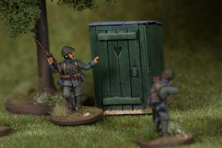 May '40 miniatures | 28mm Miniatures of the Dutch soldier during