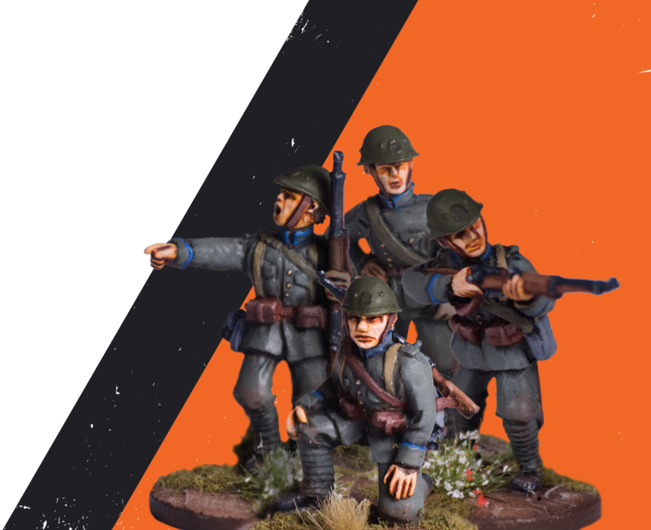 May '40 miniatures | 28mm Miniatures of the Dutch soldier