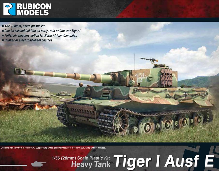 280016Tiger I Ausf E