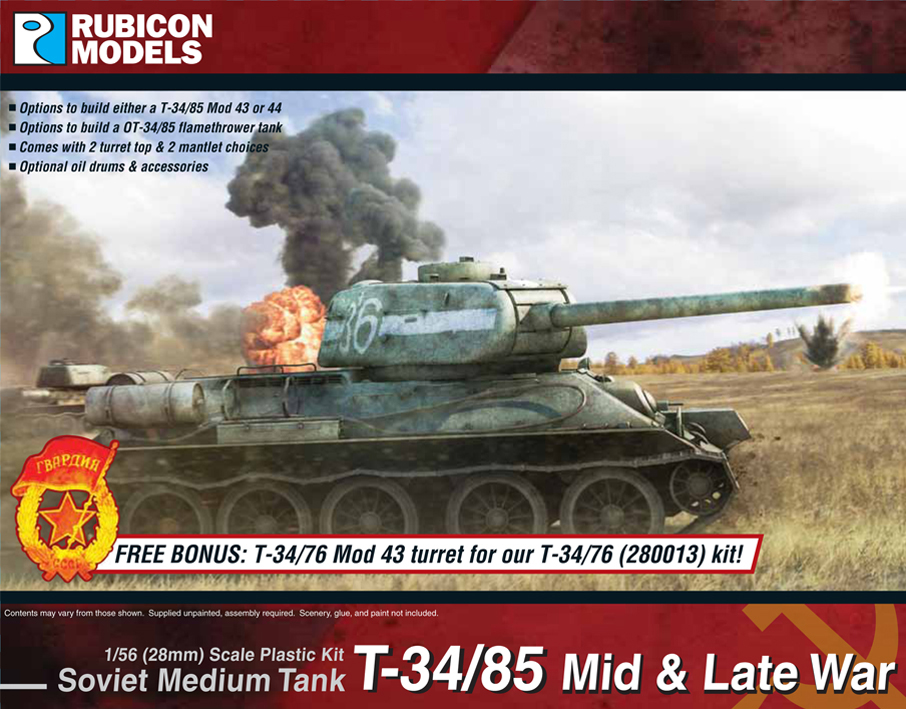 280021 – T-34/85 – Mid & Late War