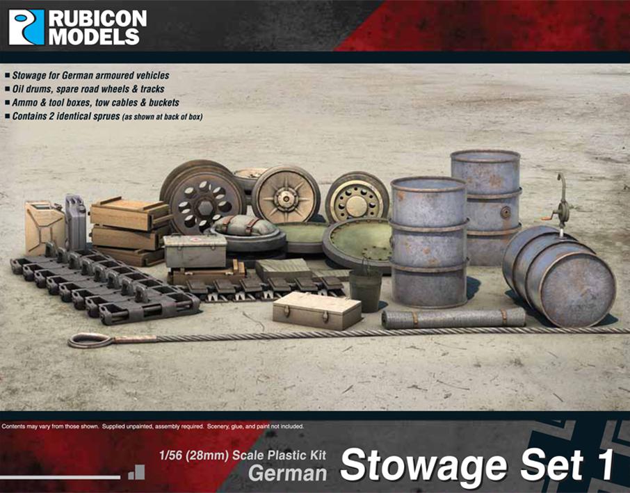 280022German Stowage Set 1