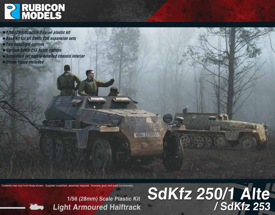 280032 – SdKfz 250/1 Alte / SdKfz 253
