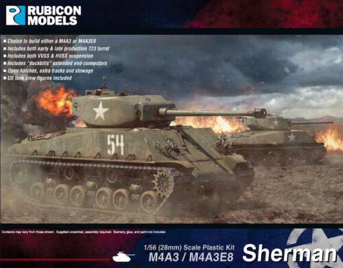 280042 M4A3 & M4A3E8 Sherman
