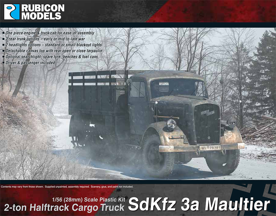 280046 – SdKfz 3a Maultier