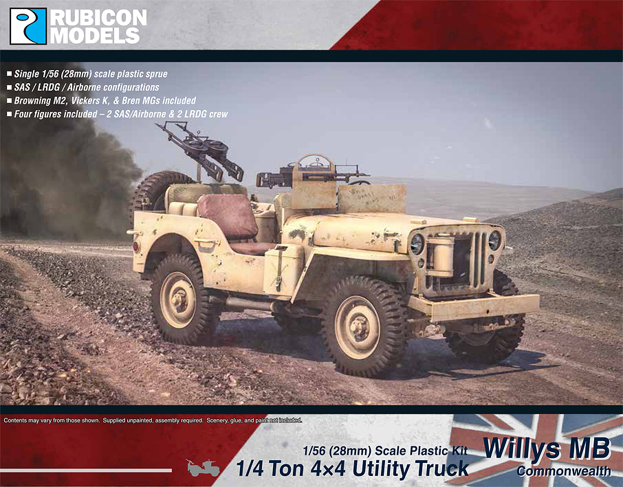280050 – Willys MB 1/4 ton 4×4 Truck – Commonwealth