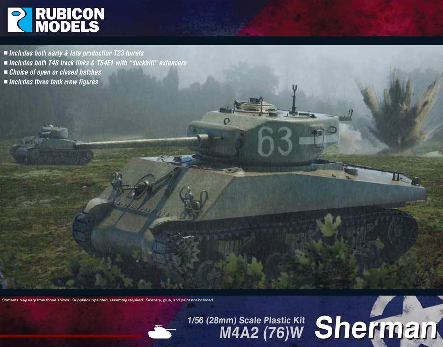 280054 – M4A2(W)76 Sherman