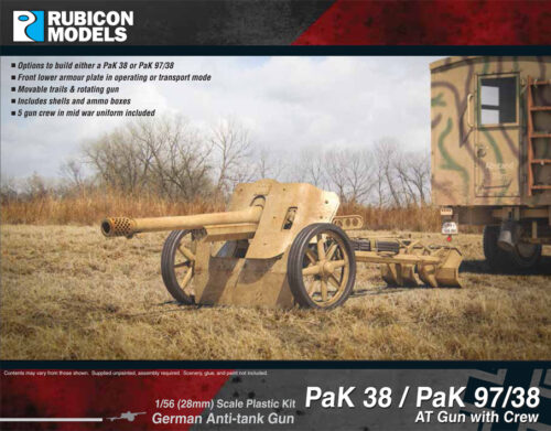 280058 PaK 38 – PaK 97-38 AT Gun with Crew