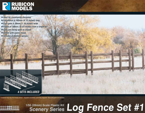 283001 Log Fence Set 1