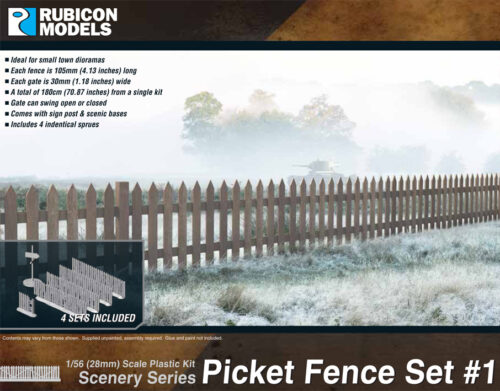 283002 Picket Fence Set 1