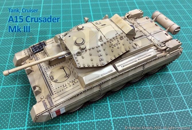 280025 – A15 Crusader Mk I / I CS / II / II CS / III / AA