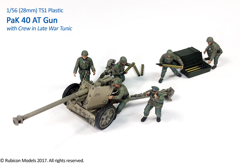 280059 – PaK 40 AT Gun with Crew