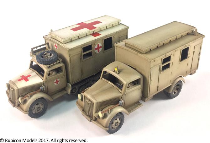 280047 – SdKfz 305/3a Expansion Set – Box Body (Einheitskoffer)
