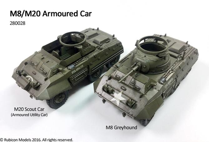 280028 – M8 / M20 Armoured Car