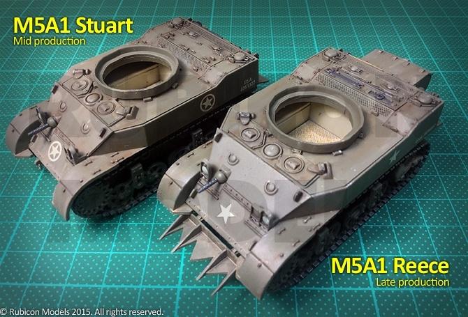 280023 – M5A1 Stuart / M5A1 Recce