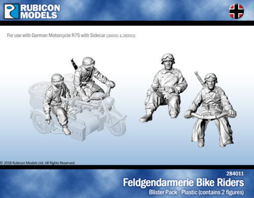 284011 Feldgendarmerie Bike Riders