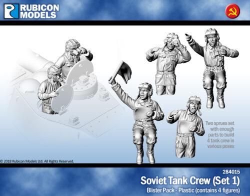 284015 Soviet Tank Crew (Set 1)