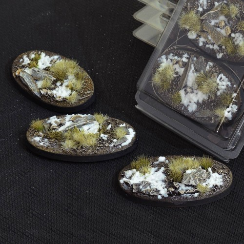 Oval 75mm – GGB-WO75 (3 Bases per blister)