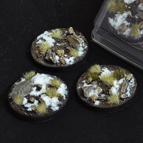 Round 50mm – GGB-WR50 (3 Bases per blister)