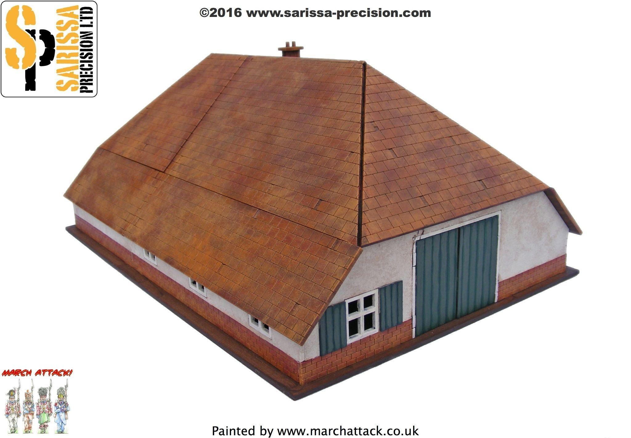 Dutch Farmhouse & Barn N073