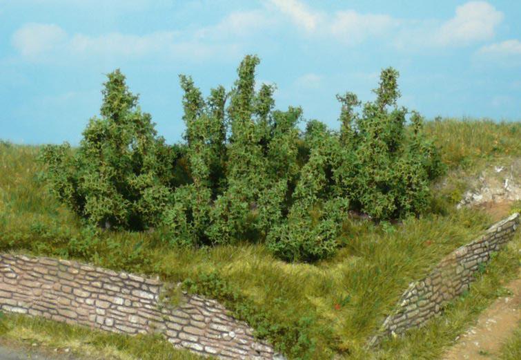 Heki 1724 4x bushes 5cm