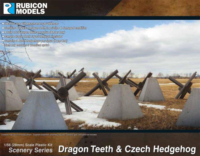 283005 - Dragon Teeth & Czech Hedgehog Set