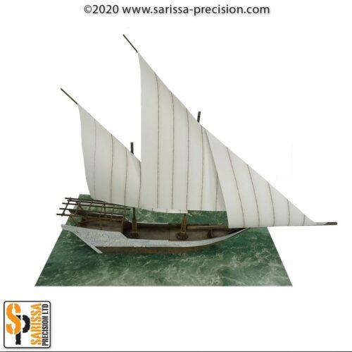 Arab sailing ship